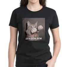 pew pew cat T-Shirt