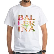 BALLERINA pink camo font Shirt