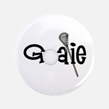"Lacrosse Goalie 3.5"" Button"