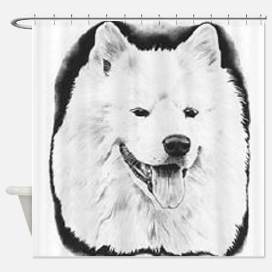 Samoyed Shower Curtain