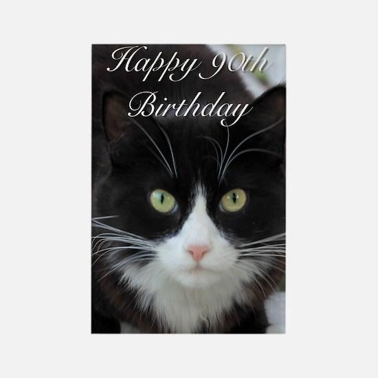 Happy 90th Birthday Cat Magnets
