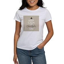Keep Calm and Chocolate On Tee