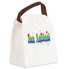 San Antonio Canvas Lunch Bag