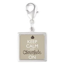 Keep Calm And Chocolate On Charms