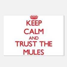 Keep calm and Trust the Mules Postcards (Package o