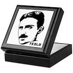 Nikola Tesla Keepsake Box