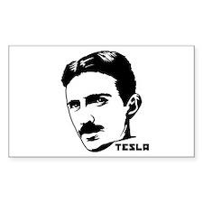 Nikola Tesla Rectangle Decal