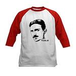 Nikola Tesla Kids Baseball Jersey