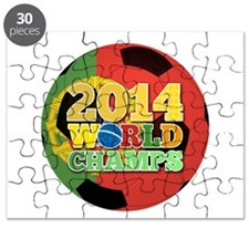 2014 World Champs Ball - Portugal Puzzle