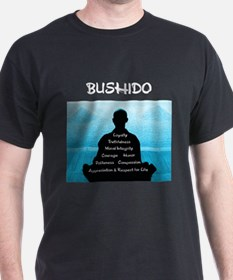 Bushido Blue and White T-Shirt