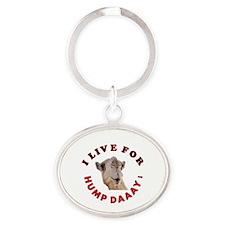 Hump Day Oval Keychain