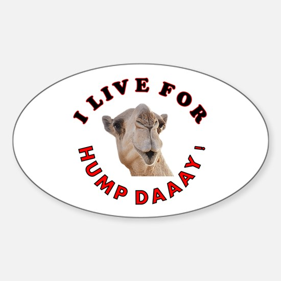 Hump Day Sticker (Oval)