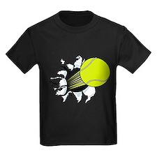 Breakthrough Tennis Ball Kids Dark T-Shirt