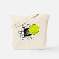 Breakthrough Tennis Ball Tote Bag
