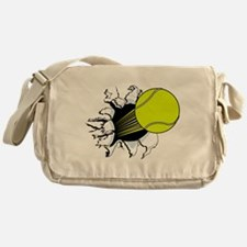 Breakthrough Tennis Ball Messenger Bag