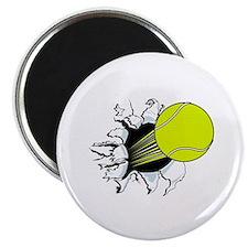 Breakthrough Tennis Ball Magnet