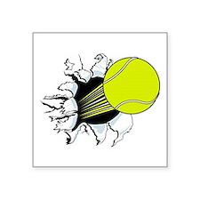 Breakthrough Tennis Ball Square Sticker 3
