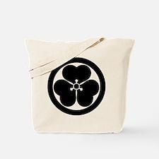 Wood sorrel in circle Tote Bag