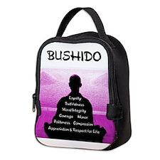 Bushido Pink Neoprene Lunch Bag