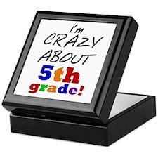 Crazy About 5th Grade Keepsake Box