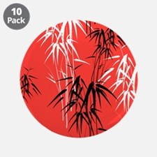 """Asian Bamboo 3.5"""" Button (10 pack)"""