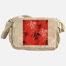 Asian Bamboo Messenger Bag