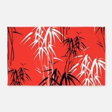 Asian Bamboo 3'x5' Area Rug