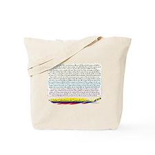 50 dichos sagrado corazon Tote Bag