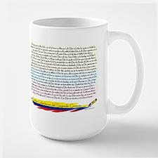 50 dichos sagrado corazon Large Mug