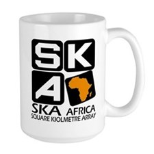 Sq. Km. Array Africa Coffee MugMugs