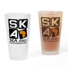 Sq. Km. Array Africa Drinking Glass