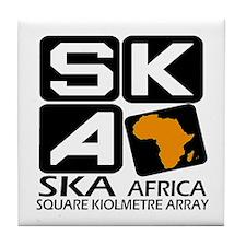 Sq. Km. Array Africa Tile Coaster