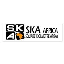 Sq. Km. Array Africa Bumper Sticker