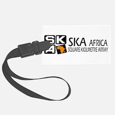 Sq. Km. Array Africa Luggage Tag