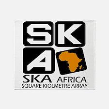 Sq. Km. Array Africa Throw Blanket