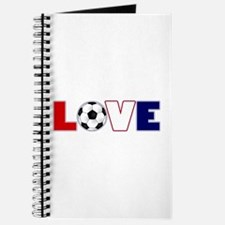 Love Soccer USA Colors Journal