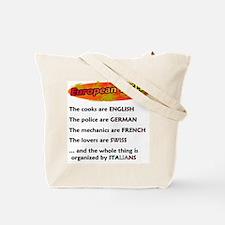 Heavenly / Hellish Euro Tote Bag