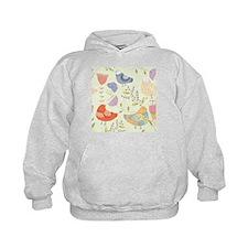 Flowers and Birds Hoodie