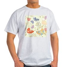 Flowers and Birds T-Shirt
