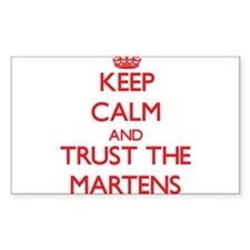 Keep calm and Trust the Martens Decal