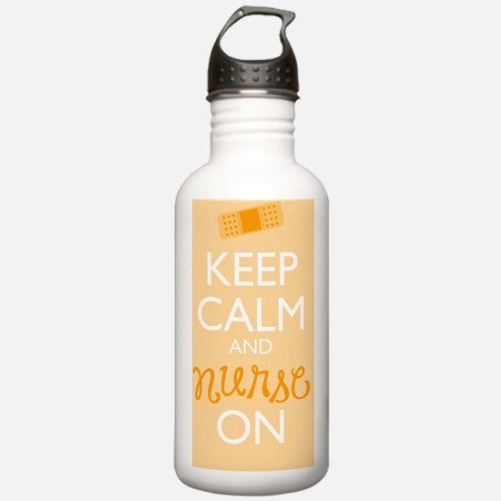 Keep Calm and Nurse On Water Bottle