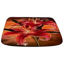 Oranage Lillies Bathmat