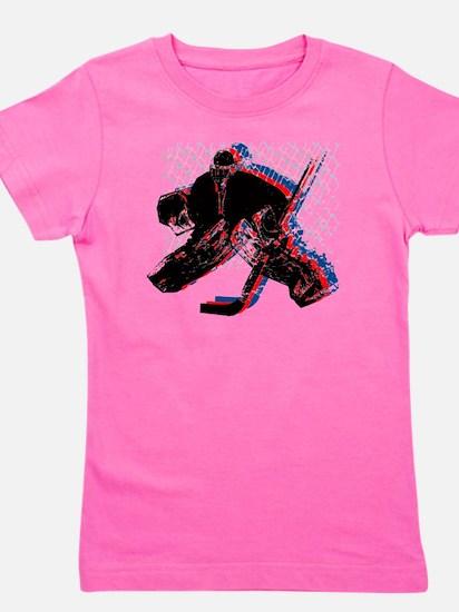 Hockey Goaler Girl's Tee