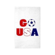 Go USA Soccer 3'x5' Area Rug
