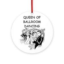 DANCING1B Ornament (Round)
