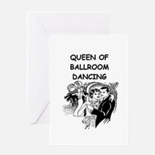 DANCING1B Greeting Cards