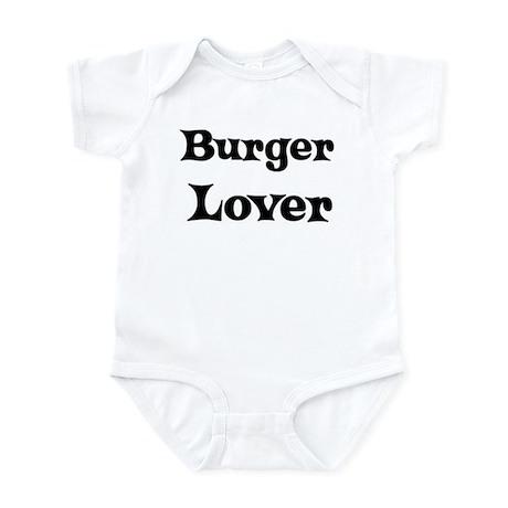 Burger lover Infant Bodysuit