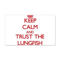 Keep calm and Trust the Lungfish Wall Decal