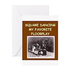 DANCING3 Greeting Cards