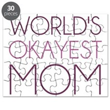Worlds Okayest Mom Puzzle